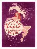 Casino de Paris Grand Revue Giclée