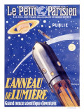 Rocketship to Saturn