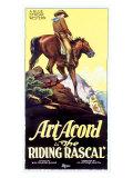 Art Acord Riding Rascal Cowboy