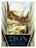 Union Pacific  Zion Canyon