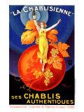 Chablisienne Chablis Wine Giclée