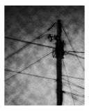 Abstract Pole And Wires