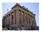 The Parthenon on the Acropolis  Athens  Greece