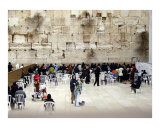 "Women's section of ""Wailing Wall"" - Old City  Jerusalem"