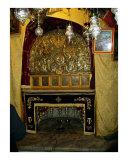 Star of Bethlehem altar - Church of the Nativity grotto  Bethlehem
