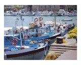 Small boat harbor at Heraklion  Crete