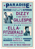 Dizzy Gillespie and Ella Fitzgerald at Paradise  Detroit  1947
