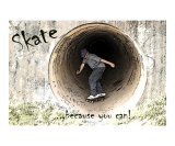 Skateboarding