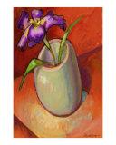 Pot with Iris
