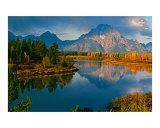 Oxbow Bend  Grand Teton National Park  Wyoming