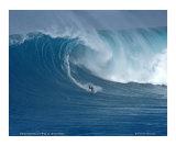 Shaun Dickson surfing Jaws  Maui / D