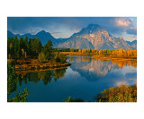 Oxbow Bend  Grand Teton National Park  Wyoming