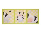 Zebra triptich