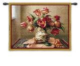Tulips in Oriental Vase