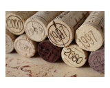 vintage wine corks