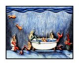 Mermaid Bathtub Party