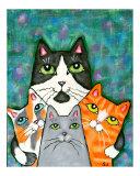 Four Cat Pose