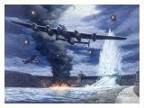Lanaster Dam Buster Bomber Aviation