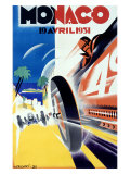 Monaco Grand Prix Formula 1  c1931