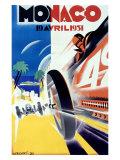 Monaco Grand Prix Formula 1  c1931