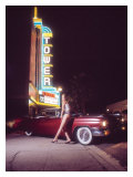 Pin-Up Girl: Tower Cinema Cadillac
