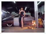 Pin-Up Girl: 1951 Chopped Mercury