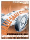 German Automobile Street Race  c1951