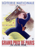 Grand Prix Horse Race  Paris
