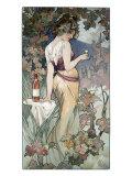 Cognac Template Giclée par Alphonse Mucha