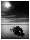 Salt Flat Roadster and Sun