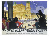 LNER  Munich and Central Europe  1929