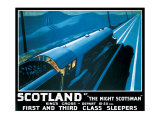 LNER  Scotland by the Night Scotsman  1932
