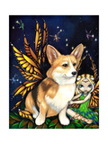 Corgi of the Faeries - Fairy Dog