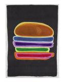 The Multi-Colored Layered Hamburger
