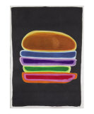 The Multi-Colored Layered Hamburger