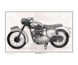 &quot;1961 BSA A7 500cc motorcycle