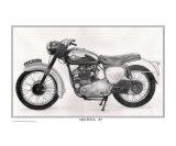 """""""1961 BSA A7 500cc motorcycle"""