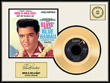"Elvis Presley - Rock-A-Hula Baby"" Gold Record"