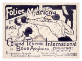 Folies-Marigny  Tournoi de Boxe