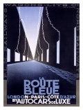 La Route Bleue Giclée