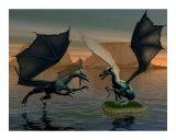 fighting dragans