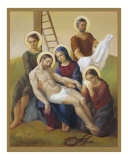 Pieta - Mother of Sorrow Jesus is Taken Down from the Cross 13