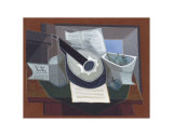 Still Life with a Guitar  1925