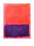 Untitled, c.1961 Reproduction d'art par Mark Rothko