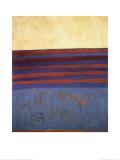 Your Lips Are Blue, c.1958 Reproduction d'art par Frank Stella