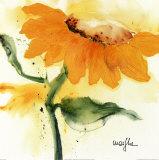 Sunflower IV Reproduction d'art par Marthe