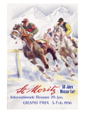 Horse Race  St Moritz