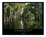 Government Ditch  Caddo Lake