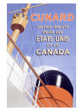 Cunard Line  British French Ocean Lines