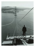San Francisco  Golden Gate Bridge Construction